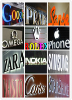 advertising company names - 3D channel letters logo signs LED illuminated signage storefront shop name company brand business advertise