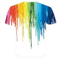achat en gros de shirt de douille d'impression des animaux gros-T-shirt manches courtes en coton à manches courtes T-shirt manches courtes en coton à manches courtes