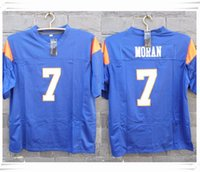 american mountain men - Stitched Movie Alex Moran Mountain State TV Show Football Jersey Sport fashion hot sale cheap Jersey with Brand with brand