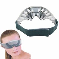 big foreheads - Electric Eye Massager care magnetic Mask anti wrinkle Migraine USB Battery Forehead big eye Health care beauty Vibration massage
