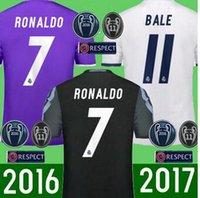 best flannels - Best quality Reals MADRIDES MEN ADULT SHIRT bale soccer shirt Away KROOS Camisetas de Futbo