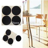 Wholesale 4Pcs set Round Furniture Table Chair Leg Floor Feet Cap Cover Protectors Anti Scratch Protector Pad Skid Slip Self Adhesive cm