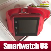Wholesale Bluetooth Smartwatch U8 U Watch Smart Watch Wrist Watches for iPhone S S Samsung S4 S5 Note HTC Android Phone