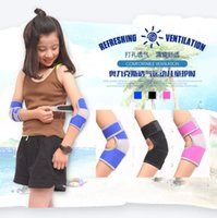 arm strains - Strained Adjustable Warm Arm band Breathable Durable Elbow Protector For Kids Tennis Squash Golf Volleyball Football Basketball Sport
