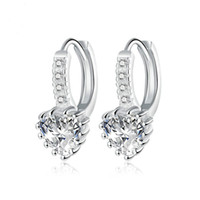 Wholesale European and American fashion accessories creative jewelry exquisite fashion Zircon Earrings ear clip
