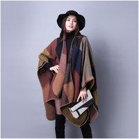 Wholesale Women shawl female casual shawl Fashion Warm Lady travel Women shawl Ethnic style thick shawl