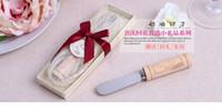 Wholesale 2016 Vintage Reserve quot Butter Spreader with Wine Cork Handle Best Wedding favors party favors supplies party decoration