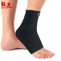 Wholesale Black Super Strong Ankle Bandage Ankle Brace Support Sports muay thai Foot Stabilizer Pain Ankle Guard Strap Wrap Sprain Basketball