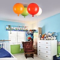 acrylic dining room - Modern fashion style colorful surface balloon ceiling light children bedroom ceiling lamp acrylic creative dining room bedside ballon lamp