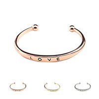 Wholesale S5Q Women Fashion Simple Stainless Steel Screw Lover Wedding Bangle Bracelet Gift AAAGAB