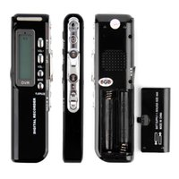 Wholesale Professional Mini Digital Voice Recorder Audio Recorder with GB Built in Memory Capacity LCD Display MP3 Player