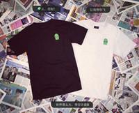 alien t shirts - 2016 New HBA Summer European American style Harajuku aliens Print special lovers Men s short sleeve T shirt