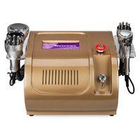 Wholesale New in1 Golden Tripolar Bipolar Sextupole RF Lipo Laser Ultrasonic Cavitation Vacuum Multipolar Body Slimming Machine