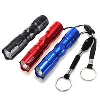 Alloy aa keychains - 2016 Custom Personalized Mini Portable LED AA Flashlight Torch Waterproof Light Flashlights Lamp Torch