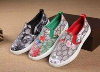 bee shoes - 2016 Platform Italian Men Shoes Casual Designer Brand Luxury Chaussure Homme De Marque no Lace up Casual shoes men Flowers bees flat shoes