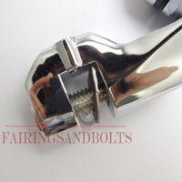 Wholesale Short Angled Adjustable Highway Peg Mount Kit mm Chrome Brand new