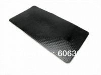 car mats - 260x133mm Insured By Glock Perfection Super Antiskid Cushion Mat With Strong Stickness mat seat cushion car