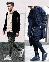 Wholesale NEW men sport hip hop pants side zippers joggers mens casual fear of god jogging harem pants trousers pantalon homme L57 M