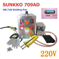 Wholesale A Updated KW AD in1 Pulse Spot Welder Battery Welding Soldering Machine for with Welding pen HB B V