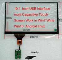 Wholesale Car pc Carputer DIY inch USB Capacitive touch screen Perfect Work on Win7 Win8 W10 Android