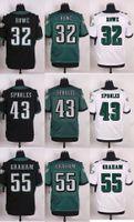 Wholesale 2016 Newest Men s PE Eric Rowe Darren Sproles Brandon Graham Elite Football Jerseys