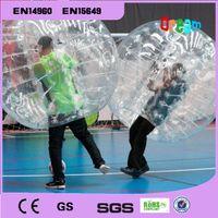 Wholesale Inflatable soccer bubble ball bumper ball human hamster ball zorb ball loopy ball