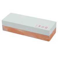 Wholesale 400 Double Side Knife Razor Sharpening Stone Whetstone Polishin Two Sides E2shopping