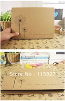 Wholesale Min order mixed items Dandelion Paste DIY PHOTO ALBUM Scrapbook Paper baby wedding photograph sticker record your life
