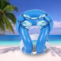 Wholesale 0 mm Thick Inflatable Swim Arm Rings Pool Toys Children Adult water toy Swimming Laps Baby Float Circle Kids Adults Life Vest