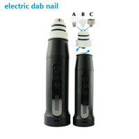Wholesale ELECTRIC e nail kit vape dab pen portable enail wax vape pen kit e nail cbd honey waxy oil wax vaporizer pen