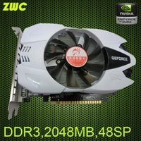 Wholesale 2G DDR3 GT710 desktop game independent graphics cards stream processors