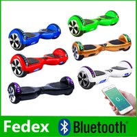 Wholesale Upgrade Scooter Phone App LED Scooter Bluetooth Music Speaker Hoverboard Electric Balancing Wheel Skateboard Smart Scooter Wheels inch