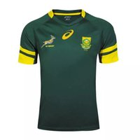 africa stocks - 2016 South Africa rugby jersey best quality direct in stock spot rugby shirts Size S XXL