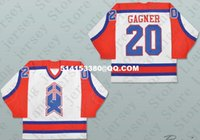 ahl jerseys - Deluxe Edition Dave Gagner AHL New Haven Nighthawks Hockey Jersey white or Custom any number name Mens Stitched jerseys