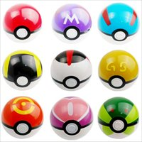 Wholesale 13pcs set cm Cosplay New Pokeball Master Great Playset action figures Pop up Plastic Poke Ball Go Toy for kid toys