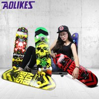 Wholesale Maple Material four scooters Fashion outdoor sports skateboards Action Sports Skateboarding