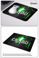Wholesale Classic Counter Strike Global Offensive Wallpaper Gaming Rectangle Silicon Durable Mouse Pad Computer Mouse Mat