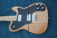 Wholesale Electric Guitar arm cut electric guitar with natural wood color