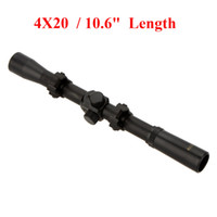 air rifles scope - 4X20 Air Rifle Telescopic Scope Sights Riflescopes Hunting Scopes Riflescope for Caliber Rifles and Airsoft Guns