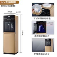 Wholesale ice cold water machine vertical warm desktop double