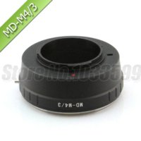 Wholesale Minolta MD MC Lens To Micro M4 M43 Mount Adapter Lens Adapter Cheap Lens Adapter
