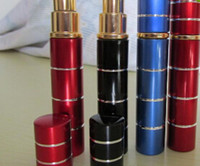 Wholesale 2PCS Lipstick model ML PEPPER SPRAY TEAR GAS Woman defend Wolf self defense equipment