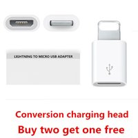 adapter adapters buy - Buy get Retail Android Micro USB to Lighting Pin Connector Adapter Converter USB Data Sync Charging Cable For5s Pad iOS9