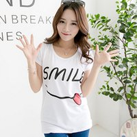 best white shirt for women - 1pc summer women short sleeve white T shirt patten car iron tower letter Casual plus size girl for best gift