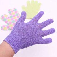 Wholesale 20pcs High Quality Person Care Exfoliating Spa Bathing Mitt Gloves Skin Care Shower Gloves BG2010 glove soccer