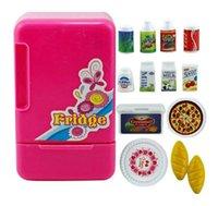 battery operated fridge - Children s Educational Pretend Play Toy Battery Operated Fridge With Light