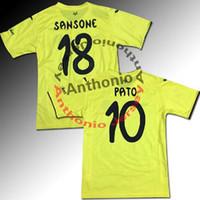 Wholesale soccer jersey Villarreal CF PATO camisetas de futbol camisa de futebol maillot de foot survetement football kit uniform football shirt