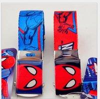 Wholesale European and American men and women selling children s fashion printed cotton belt belt children