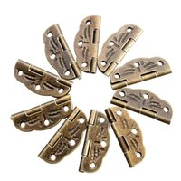 Wholesale 10 Door Butt Hinges Alloy rotated from degrees to degrees Antique Bronze mm mm