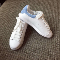 b clothes - Most popular little white shoes newest MQ cowskin on vamp sheepskin inside you must have in summer and fall suit for any clothes